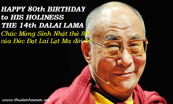 dalai lama 80th birthday 2